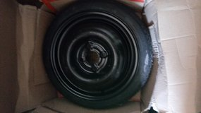 15 in spare 4 lug came off 2007 chevy aveo in very good shape used once in Alamogordo, New Mexico