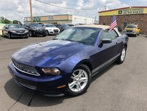 2012 FORD MUSTANG PREMIUM CONVERTIBLE 2D V6 3.7 Liter in Fort Campbell, Kentucky