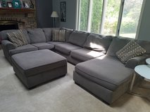 Gray Sectional Couch in Plainfield, Illinois