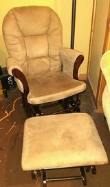 Glider chair and ottoman in Fort Leonard Wood, Missouri