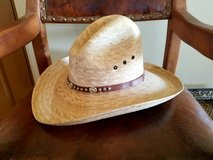 Straw Cowboy Hat by Dallashats.  NEW! in Yucca Valley, California