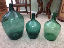 Vintage wine bottles (demijean/damigiana) in Fort Lewis, Washington