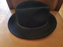Black 100% Wool Hat by Wilton in Yucca Valley, California