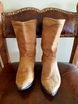 Vintage Zodiac Boots...Soft Suede Slouch in Yucca Valley, California