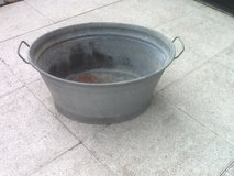 Steel Tubs - Round or Oval With Handles in Baumholder, GE