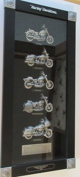 HARLEY-DAVIDSON MOTORCYCES IN THE 1990S PEWTER  WALL--  FATHERS' DAY!! in Montgomery, Alabama