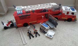 True Hero Lights and Sounds Firetruck w/all parts in Camp Lejeune, North Carolina