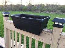 Flower Boxes for Railings and for free standing in Fort Drum, New York