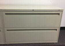 """HON Brigade 2-Drawer 42"""" File Cabinet - 4 available in Joliet, Illinois"""