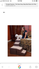 Easy Step Bed Stairs for Pets in Sandwich, Illinois