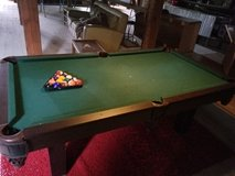 Pool table in Ottawa, Illinois