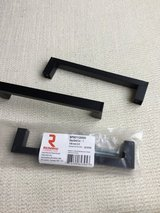 Cabinet drawer handles matte Black metal - 29 in Westmont, Illinois