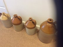 SELECTION OF LARGE EARTHENWARE JUGS/ FLAGONS in Lakenheath, UK