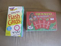 Time & Fraction Flashcards in Shorewood, Illinois