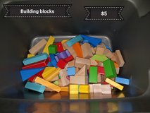 Building blocks in Vacaville, California