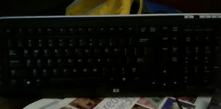 HP keyboard. in Camp Lejeune, North Carolina