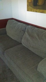 Oversized couch and chair in 29 Palms, California