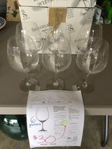 NEW 6 crystal wine glasses in Fort Lewis, Washington