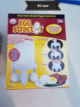 Egg stractor in Vacaville, California