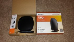 Belkin N150 wireless router in Fort Leonard Wood, Missouri