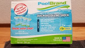 Quick Dissolving Shock Treatment for Swimming Pools (24 Individual Pack) in Vacaville, California