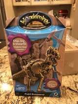 Wonderology T-rex fossil discovery kit in Bolingbrook, Illinois