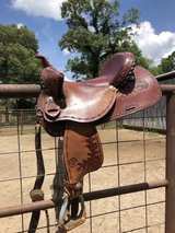 Saddle in Fort Polk, Louisiana