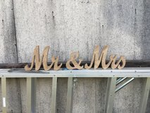 Mr and mrs sparkle block sign in Fort Polk, Louisiana