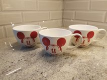 Set of 3 Disney Mickey mouse mugs in St. Charles, Illinois