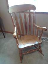 Wood rocking Chair**REDUCED** in Morris, Illinois