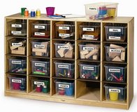Toy or Craft supply 20 Cubby Storage Cabinet by Whitney Brothers in Okinawa, Japan