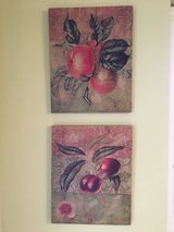 Picture group of 4 for kitchen -- fruit, perfect! in Plainfield, Illinois