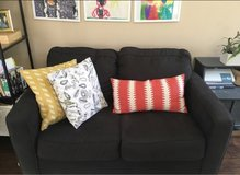 two grey couches. love seat and sofa. in Joliet, Illinois