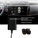 Car TPMS 4 External Sensor for Android Navigation DVD Player in Palatine, Illinois