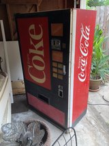 Vintage Coke Machine in Kingwood, Texas