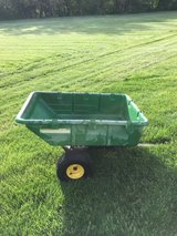 John Deere 10 P cart pull behind tractor and it dumps also ready to work in Sandwich, Illinois