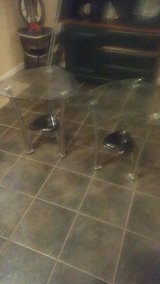 Glass end tables/coffee table in Alamogordo, New Mexico