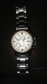 Two Tone Stainless Fossil Watch in Alamogordo, New Mexico
