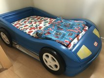 Car bed for toddler boy in Okinawa, Japan