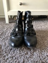 Woman's Size 8 Black Boots in Lackland AFB, Texas