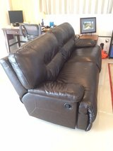 Full Leather Couch Set in Okinawa, Japan