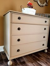 Refinished dresser in Bolingbrook, Illinois