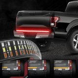 "60"" Triple Row LED Tailgate Light Bar with Amber Turn Signal Red Brake/Running in Ramstein, Germany"