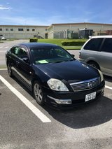 2006 Nissan Teana with CARWINGS!  Road Tax Paid. JCI Good to June 2019. in Okinawa, Japan
