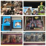 Huge Mixed Toy and Video Game Lot in Huntington Beach, California