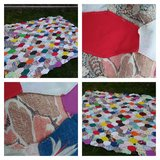 Hand Stitched Quilt Top*Lot 2 of 5 in New Lenox, Illinois
