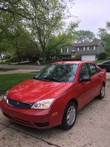 2007 Ford Focus SE...Racing Red in Schaumburg, Illinois