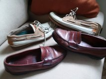 2 pair of MENS SPERRY SHOES in Cherry Point, North Carolina