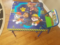 Paw patrol table with 1 chair in Shorewood, Illinois