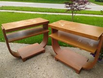 Pair Blond End Tables in Orland Park, Illinois